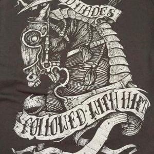 TEE SHIRT WAR HORSE