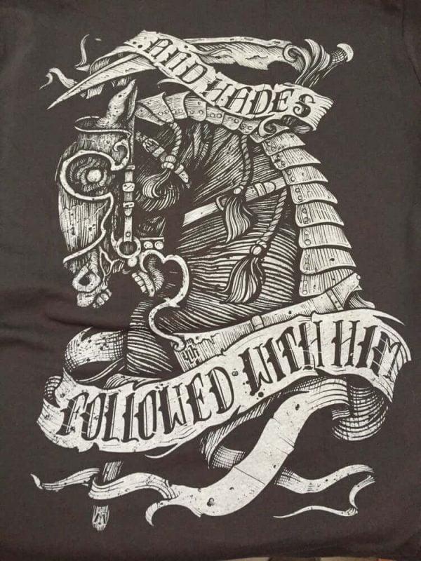 Tee Shirt War Horse Moonkey