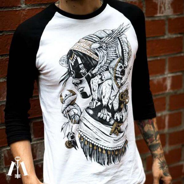 Teeshirt Baseball Valkyrie Moonkey