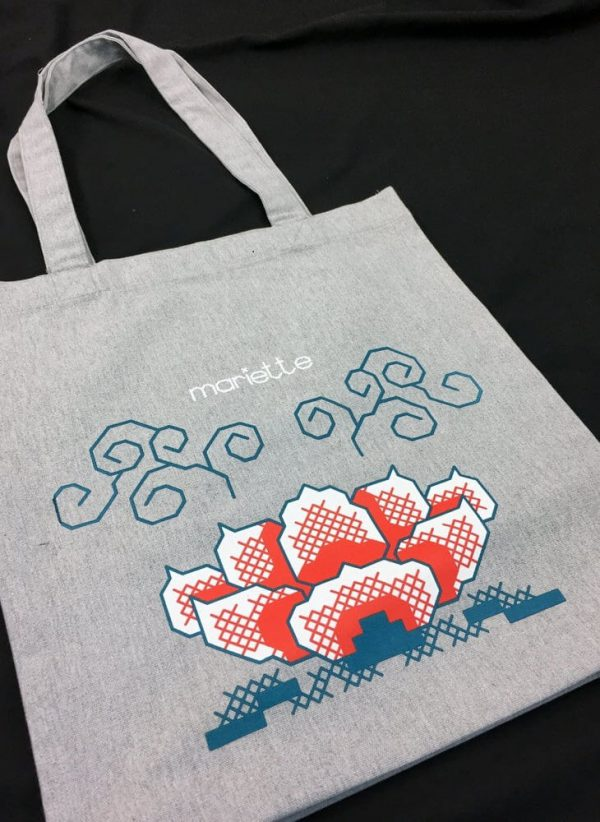 Tote Bag Lotus Mariette